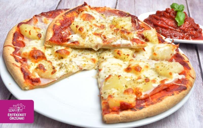 Weiche, hefefreie und glutenfreie Pizza aus lockerem und leichtem Pizzateig