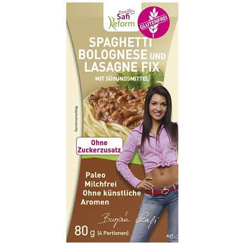 Bolognese und Lasagne Fix (Glutenfrei) 80 g