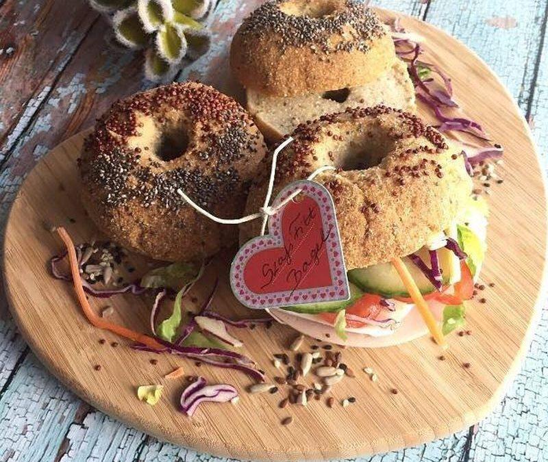 Szafi Reform glutenfreie Bagels (sojafrei, hefefrei, kann auch milchfrei zubereitet werden)