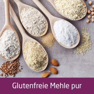 Glutenfreie Mehle pur