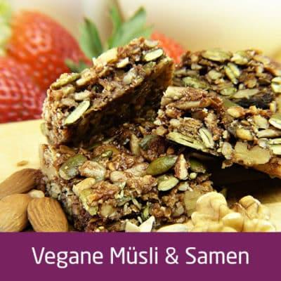 Vegane Müsli & Samen