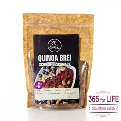 Quinoa Frühstücksbrei mit Schoko-Geschmack