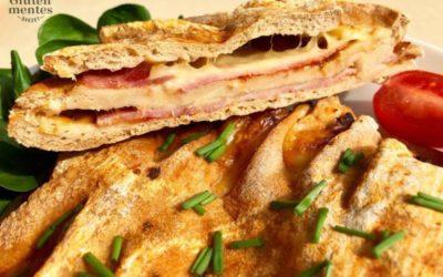 Szafi Free kohlenhydratreduziertes und glutenfreies warmes Sandwich