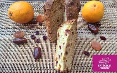 Weihnachtlicher Panettone (kohlenhydratreduziert, glutenfrei und paleo)