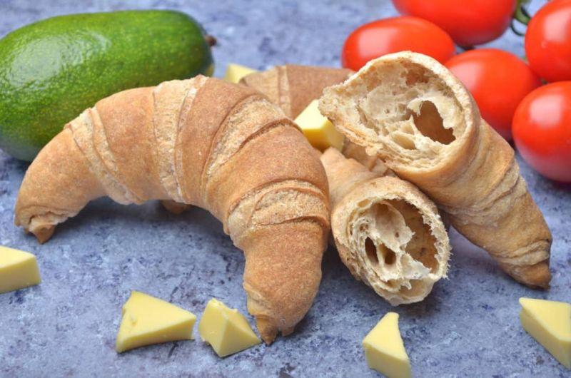 Szafi Free Blätterteig-Croissants mit Buttergeschmack (glutenfrei, milchfrei, eifrei, vegan)