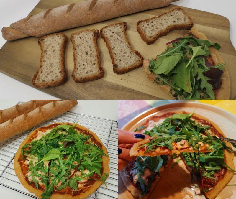 3 glutenfreie Rezepte aus der Vegan Brot Backmischung